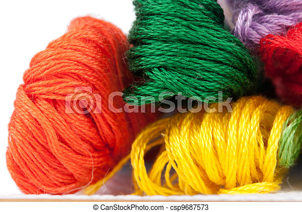 embroidery floss - csp9687573
