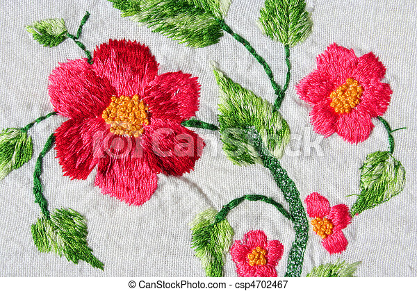 embroidery - csp4702467