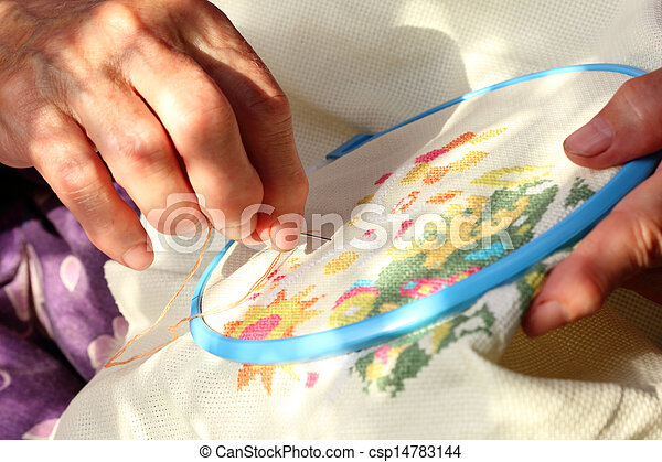 embroidery - csp14783144