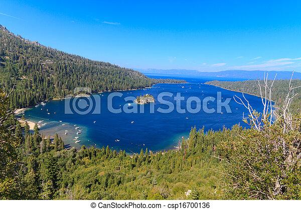 Emerald Bay, Lake Tahoe, California - csp16700136