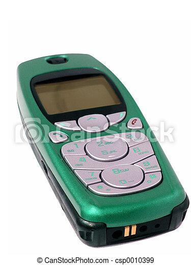 Emerald Cellphone - csp0010399