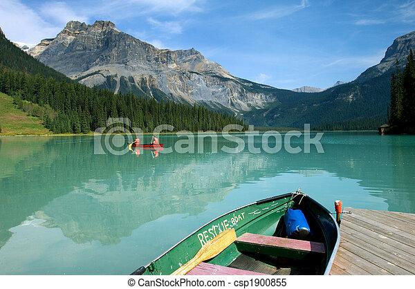 Emerald lake - csp1900855