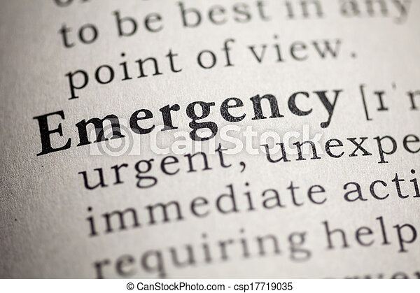 emergencia - csp17719035
