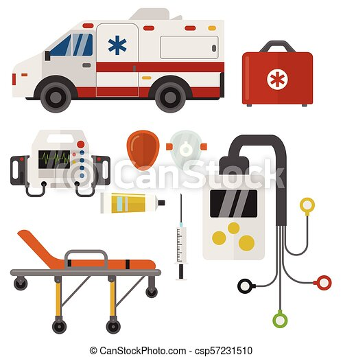 emergencia, iconos, hospital, ilustración, farmacia, urgente, vector,  salud, tratamiento, ambulancia, medicina, paramédico, médico, apoyo