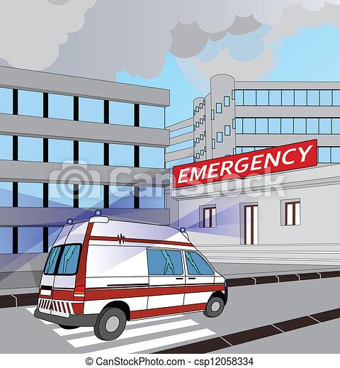 Emergencia - csp12058334