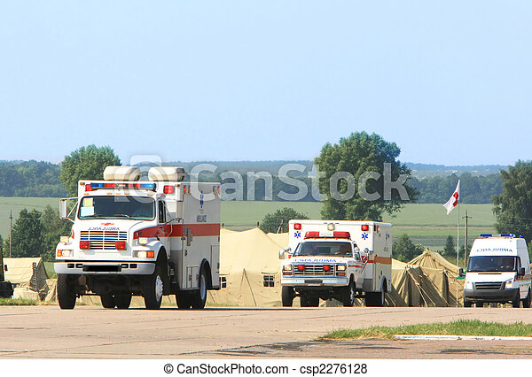 Emergency ambulance - csp2276128