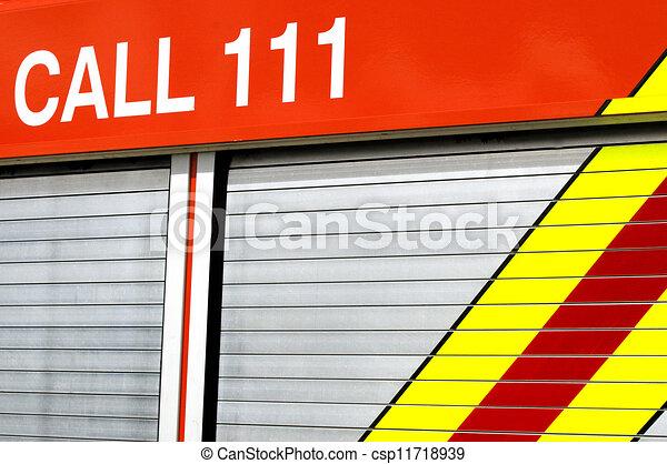 Emergency call 111 - csp11718939