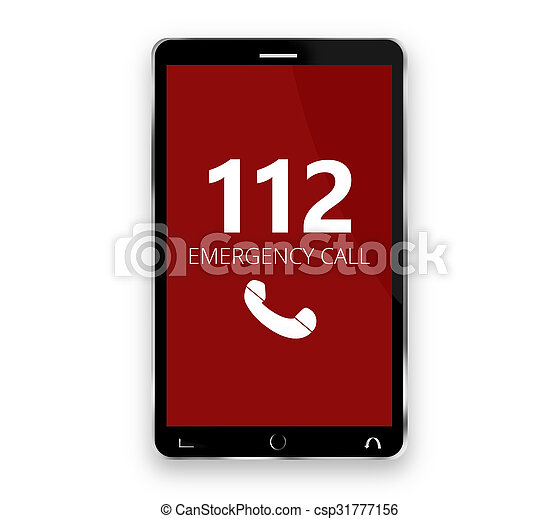 emergency call 112  - csp31777156