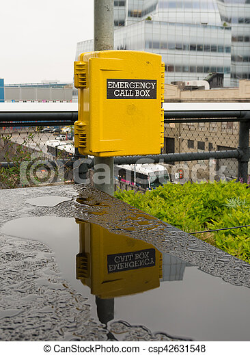 emergency call box - csp42631548