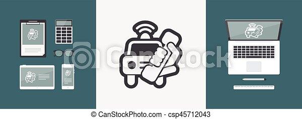 Emergency call - csp45712043