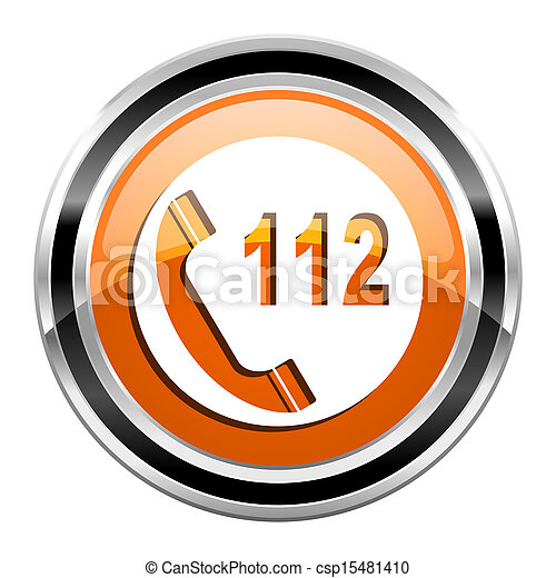 emergency call icon - csp15481410