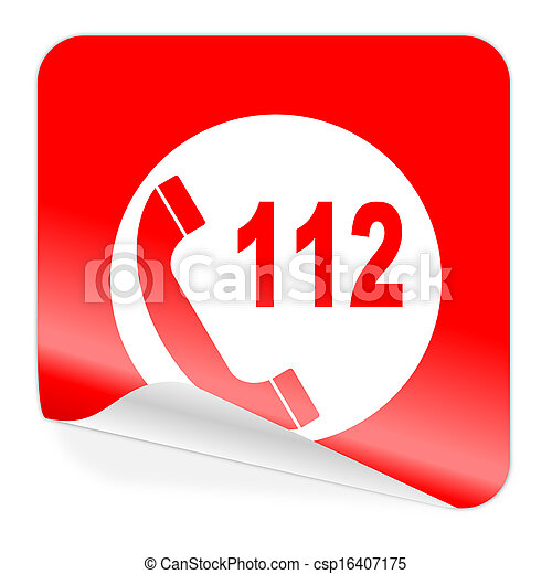 emergency call icon - csp16407175