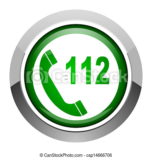 emergency call icon - csp14666706