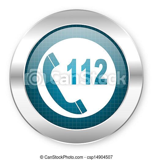 emergency call icon - csp14904507