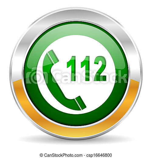 emergency call icon - csp16646800