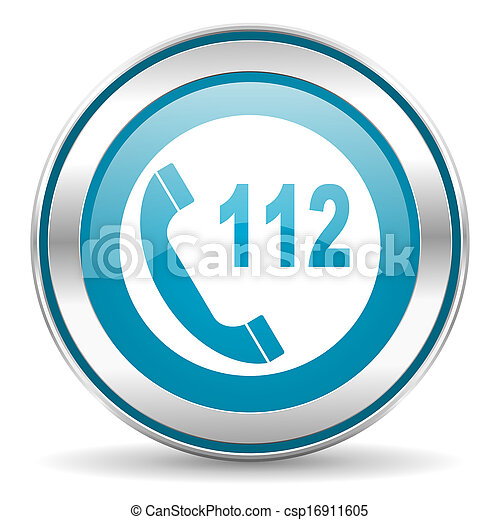 emergency call icon - csp16911605