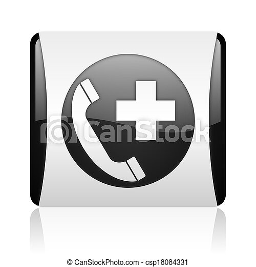 emergency call icon - csp18084331