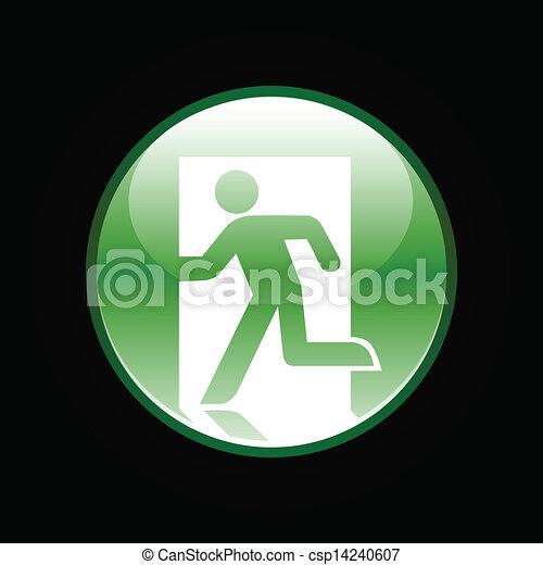 Emergency exit button - csp14240607