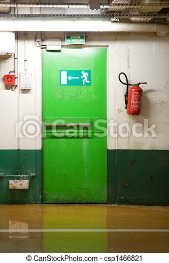 Emergency Exit Door - csp1466821