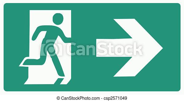 emergency exit - csp2571049