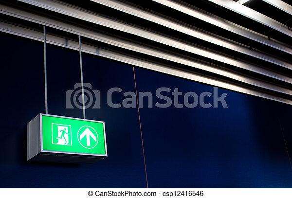 Emergency Exit - csp12416546