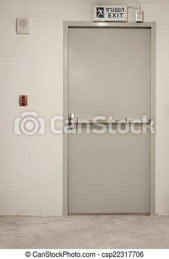 Emergency exit  - csp22317706
