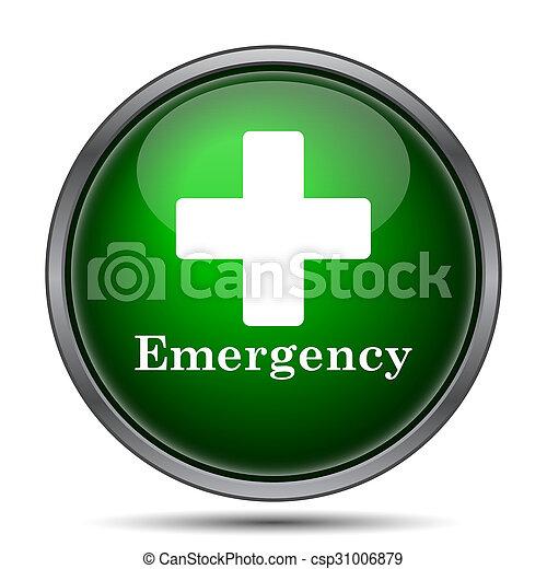 Emergency icon - csp31006879