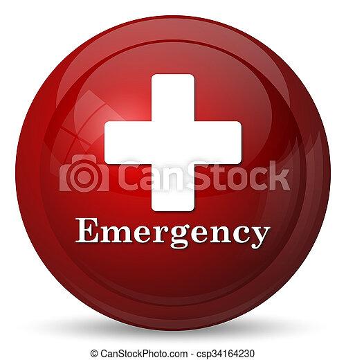 Emergency icon - csp34164230