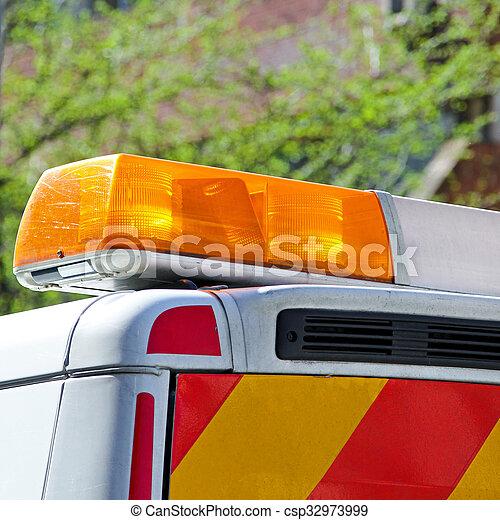 Emergency Lights - csp32973999