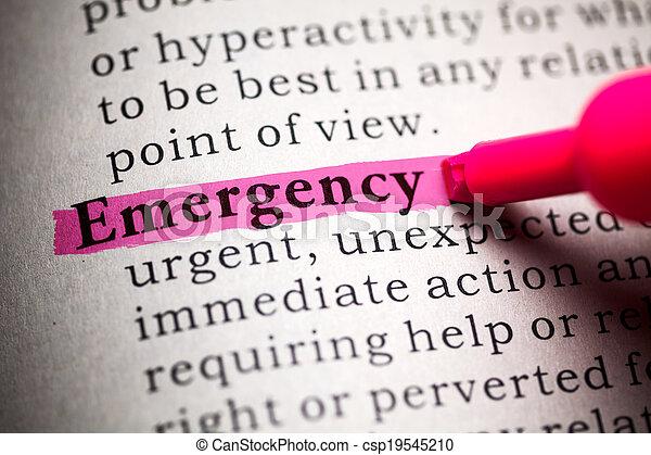 emergency - csp19545210