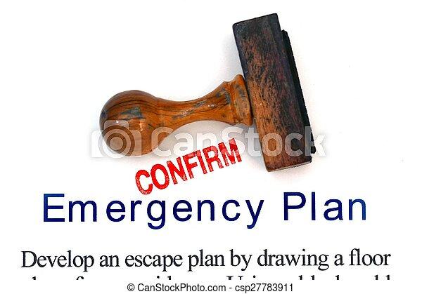 Emergency plan - csp27783911