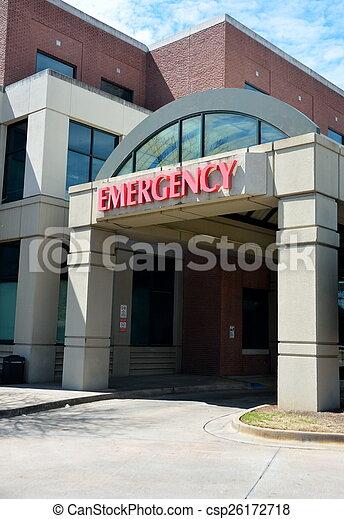 Emergency Room Entrance - csp26172718