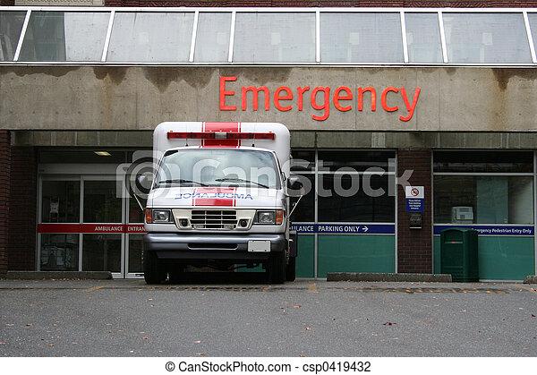 emergency room entrance - csp0419432