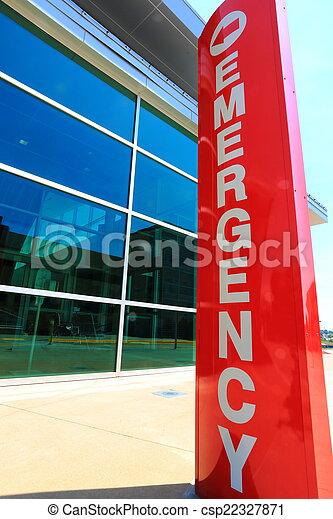 emergency room sign - csp22327871