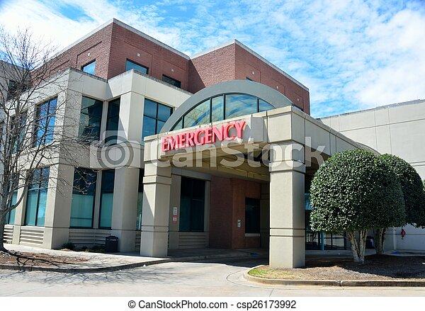 Emergency Room Sign - csp26173992