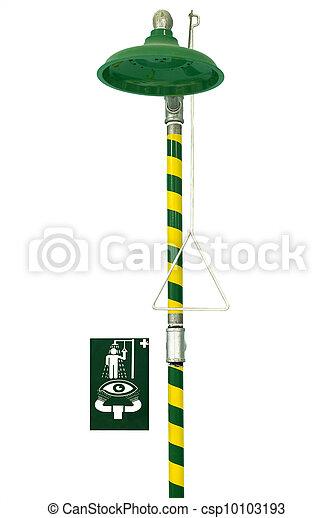 Emergency safety shower - csp10103193