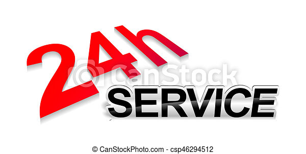 emergency service sign - csp46294512