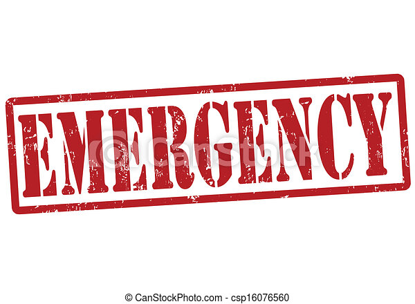 emergency stamp emergency grunge rubber stamp on white vector rh canstockphoto com emergency clipart images emergency pictures clip art