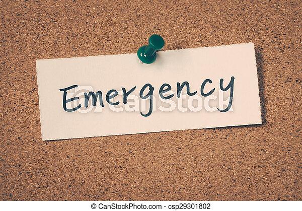 Emergency - csp29301802