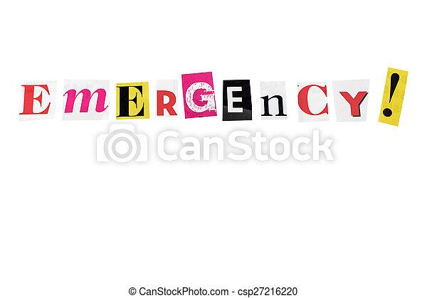 emergency! - csp27216220
