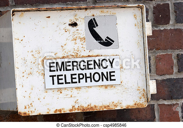 Emergency Telephone - csp4985846
