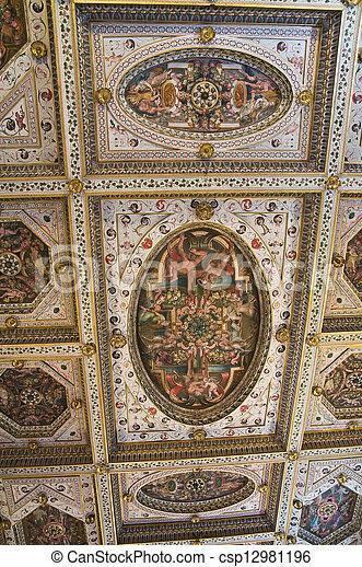 emilia-romagna., este, castle., ferrara., italy. - csp12981196
