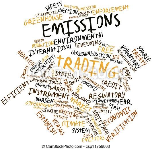 Emissions trading - csp11759863