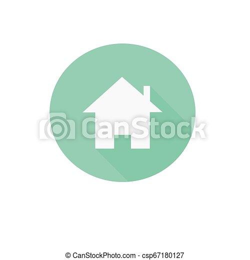 emmagasiner icône, pastel - csp67180127