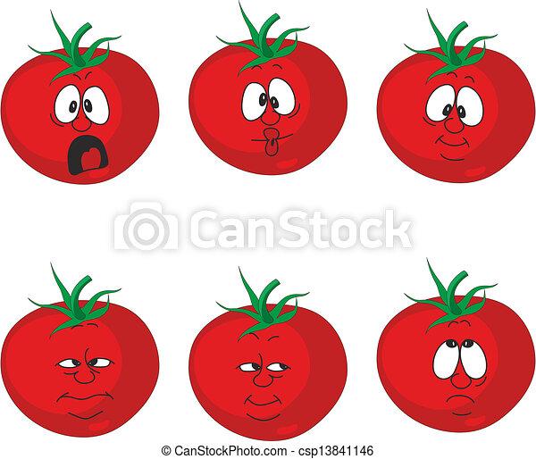 Emo o tomate jogo legumes 007 caricatura vermelho emo o tomate jogo legumes 007 - Tomate dessin ...