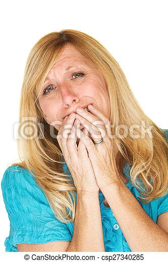 Mujer emocional - csp27340285