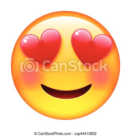 Emoji sourire love amour emoticon amour love - Clipart amour ...