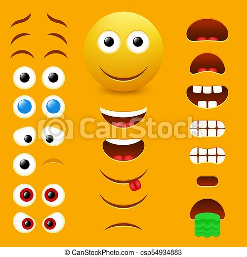 Emoji Vetorial Desenho Cobranca Criador Emoticon Corporal
