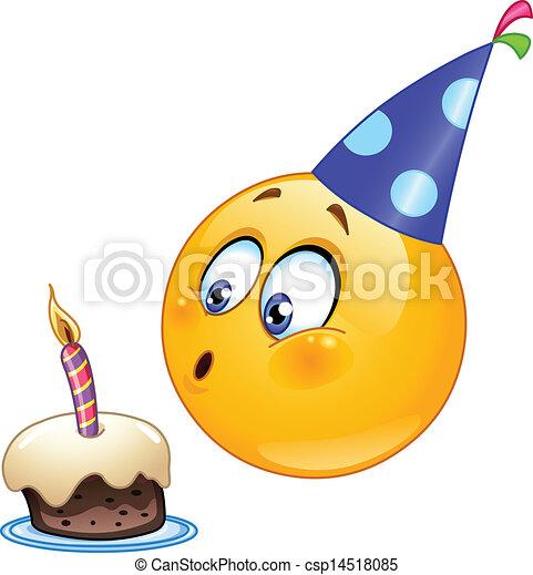 emoticon , γενέθλια  - csp14518085