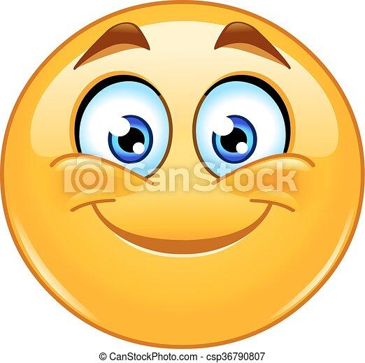 emoticon, 微笑 - csp36790807